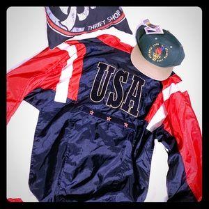 Vintage 80s Macgregor USA Jacket Size Large